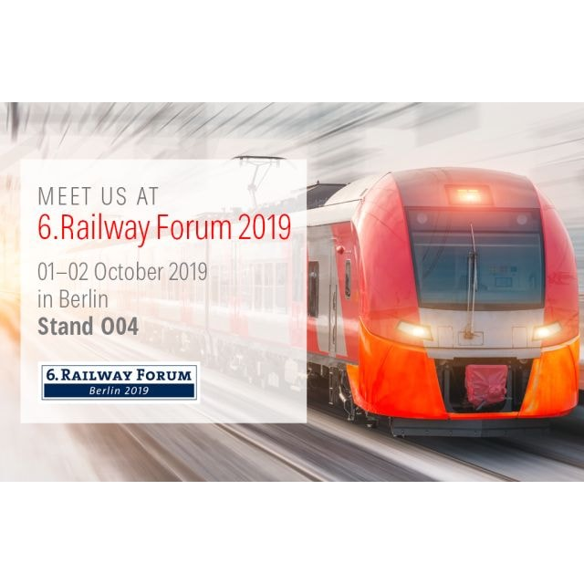 Kathrein at the 6.Railway Forum 2019