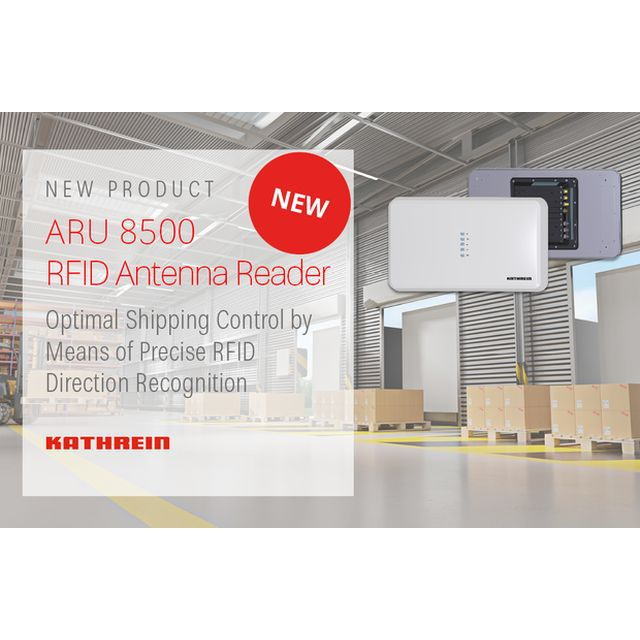Kathrein presents its ARU 8500 RFID Antenna Reader at RFID & Wireless IoT tomorrow 2019