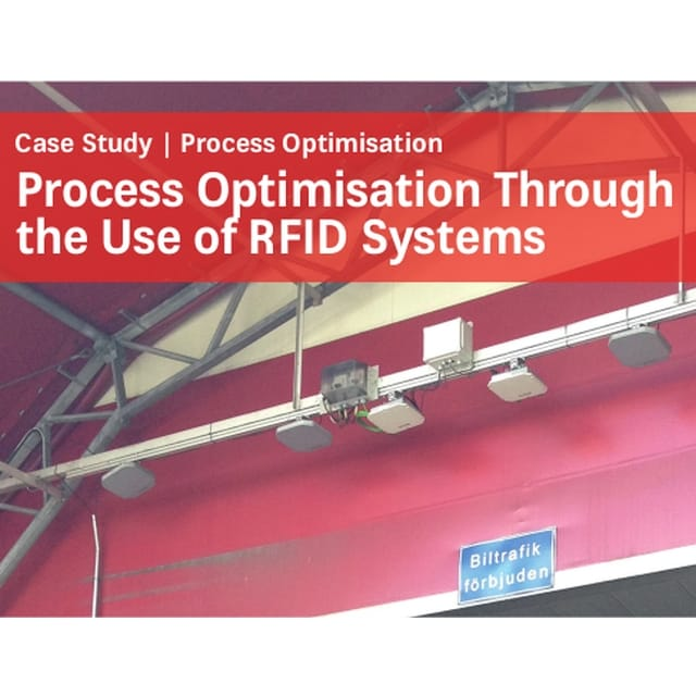 Case Study by Kathrein Solutions: Process Optimisation Through the Use of RFID Systems