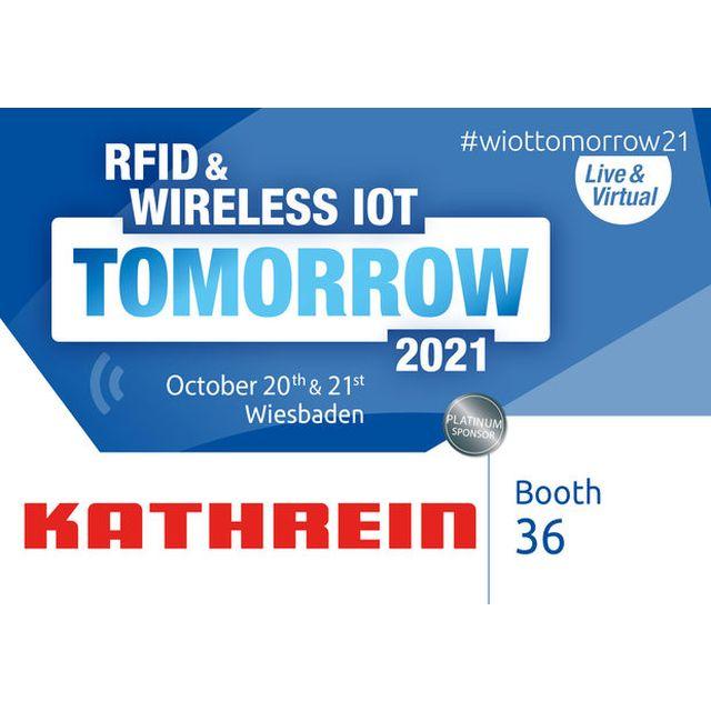 #wiottomorrow21: RFID Reader, Antennen und RTLS von Kathrein Solutions