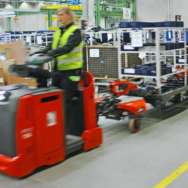 Kathrein Solutions: RFID-Tagged Load Carriers