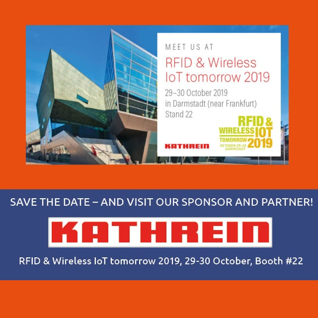 Kathrein Solutions Sponsors the RFID & Wireless tomorrow 2019!