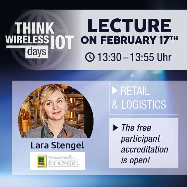 Think WIOT Day on Feb 17: Kulinarikwelten Stengel Opts for Sensors