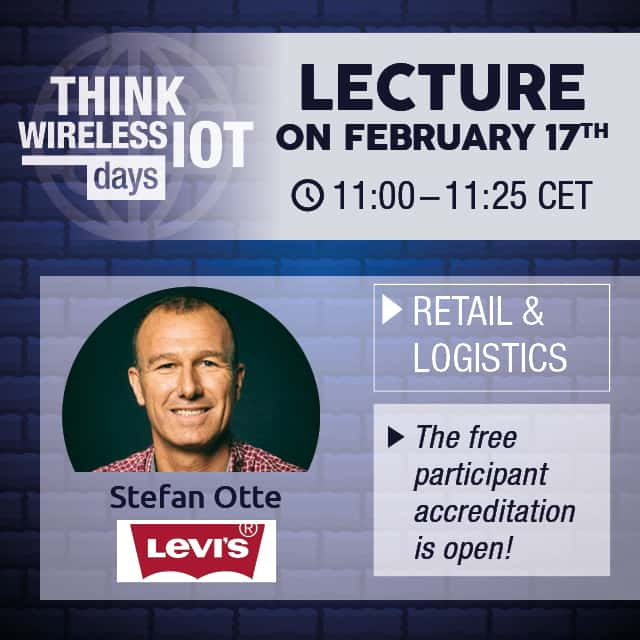 Levi's Presents RFID Rollout at Think WIOT Day on Feb 17