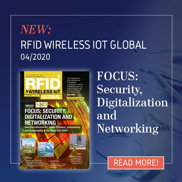 Issue 04/2020 of RFID & Wireless IoT Global released