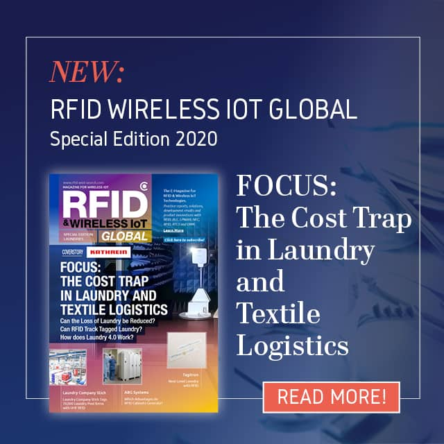 RFID & Wireless IoT Global's Special Edition 'Laundry 4.0' has been Published!