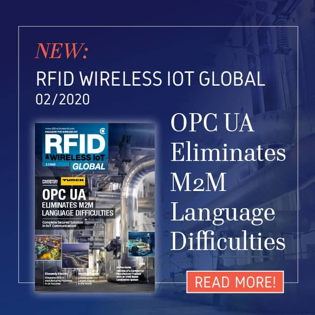 Issue 02/2020 of RFID & Wireless IoT Global released