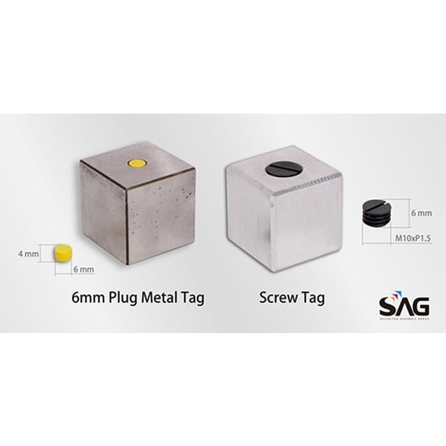 SAG develops miniaturized NFC tags readable from within metal