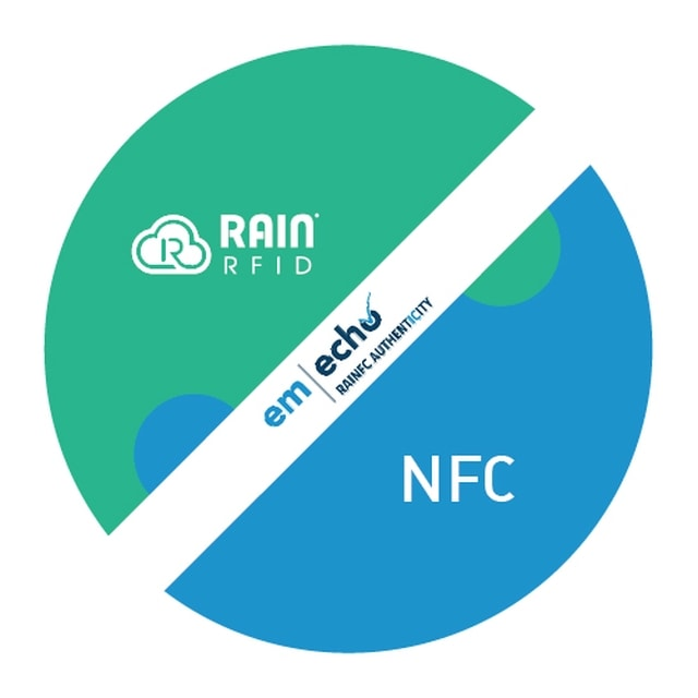 RAIN RFID+NFC Two-Way Applications in One Tamper Proof Label