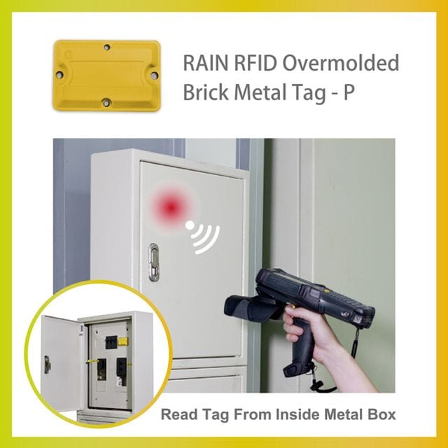SAG unveils RFID Overmolded Brick Metal Tag-P at #WIOTtomorrow19