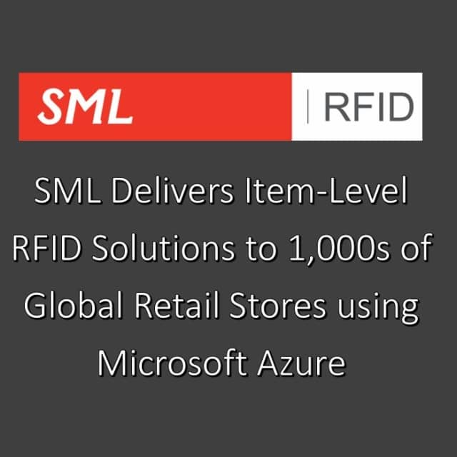 SML RFID Announces Successful Partnership With Microsoft