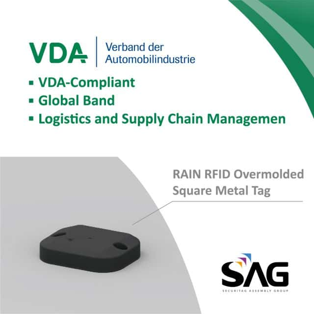 Video Inside: SAG Launches VDA-Compliant RAIN RFID Hard Tag