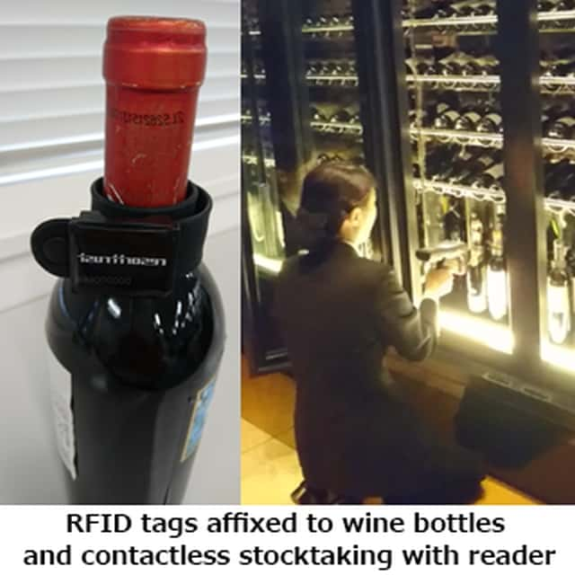 SATO Provides Tokyo Baycourt Club with RFID Wine Cellar Inventory Solution
