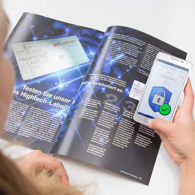 Schreiner Group Combines NFC, Printed Electronics and Digital Know-how