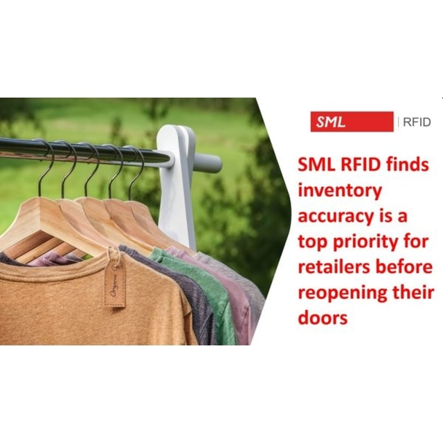 Inventory accuracy is a top priority for retailers before reopening their doors