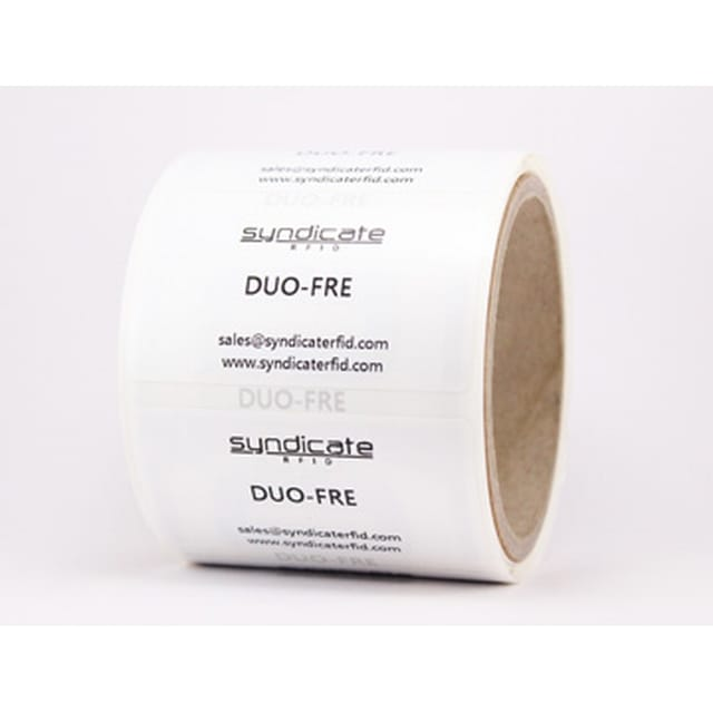 Syndicate RFID is launching the Duo-Fre RFID Label
