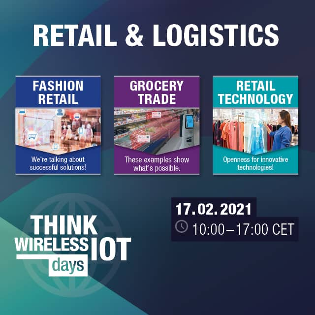 Think WIOT Day 01/2021 – Livestream: Solutions for Retailers
