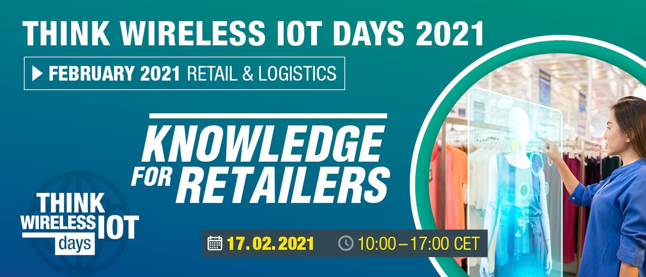 "The First Think WIOT Day: ""Solutions for Retailers"" on February 17th"
