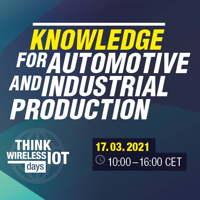 Think WIOT Day: Knowledge in Automotive and the IIOT