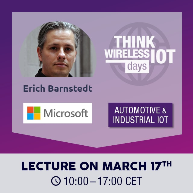 Digital Twin & Cloud Solution - Microsoft at Think WIOT Day