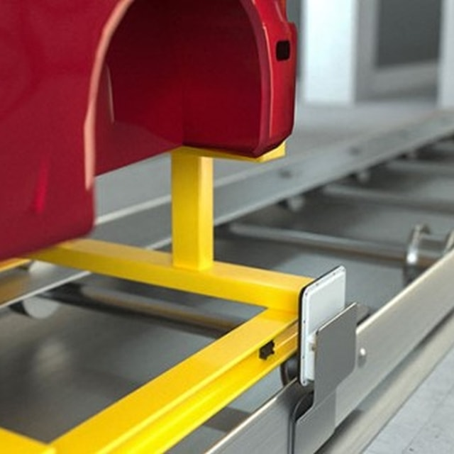 Paint Shop: End-to-end Identification of Skids with RFID by Turck