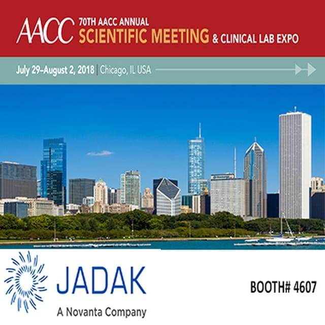 Visit JADAK at AACC 2018 on July 29