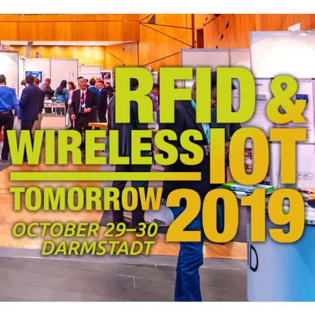 iDTRONIC auf der RFID & Wireless IoT Tomorrow 2019