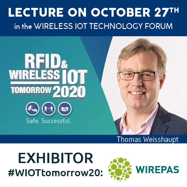 #WIOTtomorrow20: Wirepas Co-Exhibits with Intranav and ELA Innovation