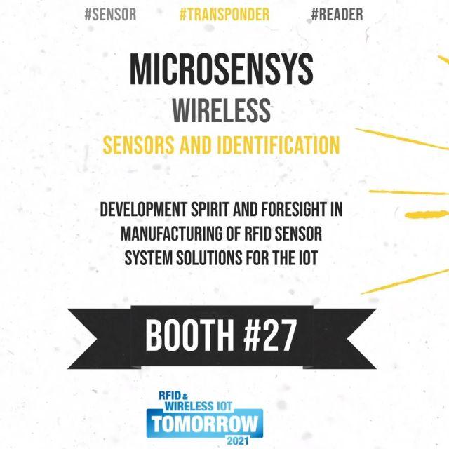 Microsensys präsentiert Wireless Sensors für IoT auf der #wiottomorrow21