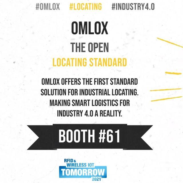 omlox: Erster Industrie 4.0-Ortungsstandard auf der #wiottomorrow21