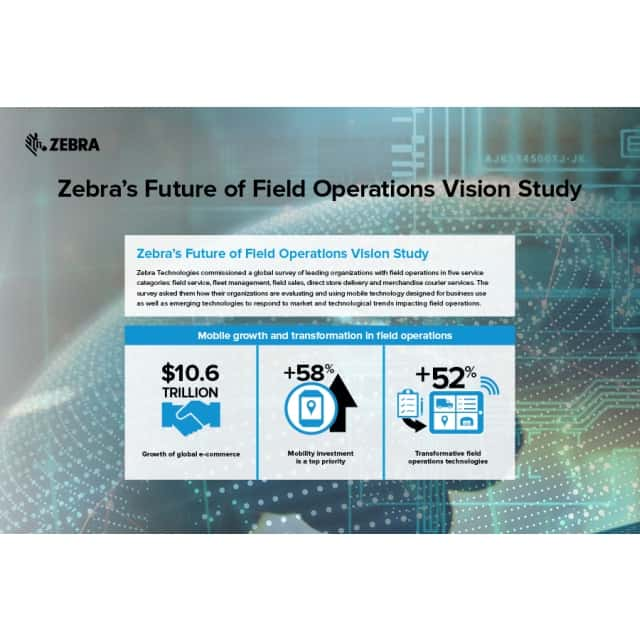 Zebra Technologies stellt Future of Field Operations Study vor