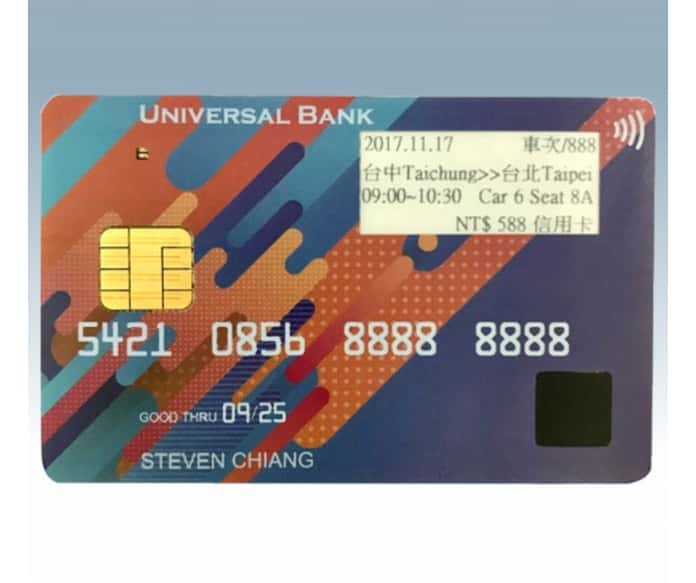 New High-End Payment Cards From B-Id
