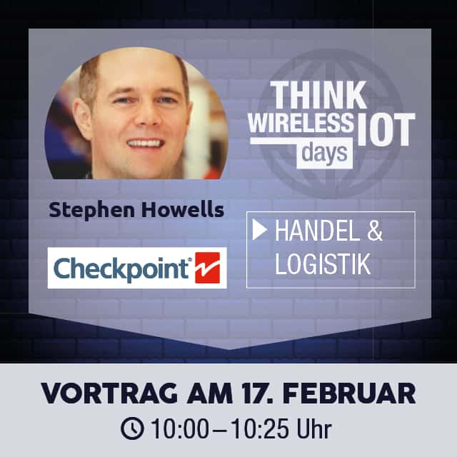 Checkpoint Systems referiert am WIOT Day - Handel & Logistik