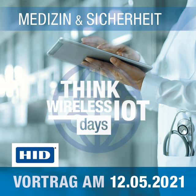 Impfstoff-Smartcards & Contact Tracing – HID auf dem WIOT Day