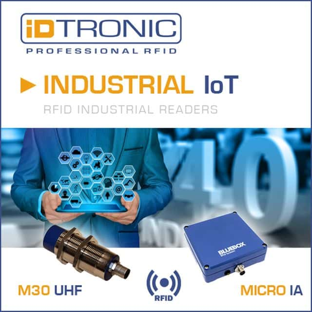 Industry 4.0 and IoT RFID Readers