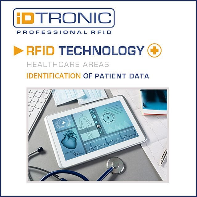 Mobile RFID Tablet Solution with Android 10 for Patient Identification