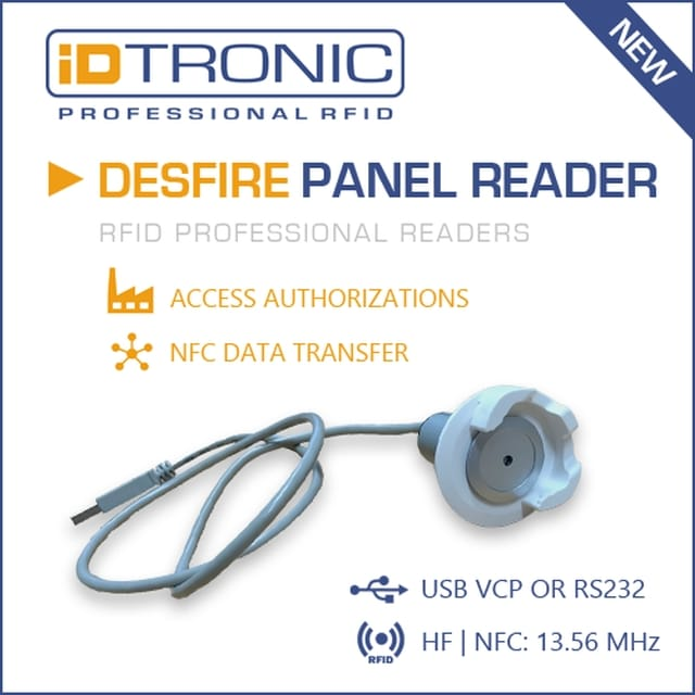 iDTRONIC presents 3 new RFID Professional Reader