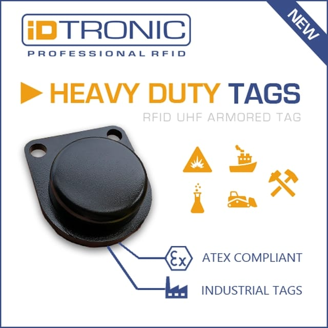 iDTRONIC presents new HEAVY DUTY RFID TAGS