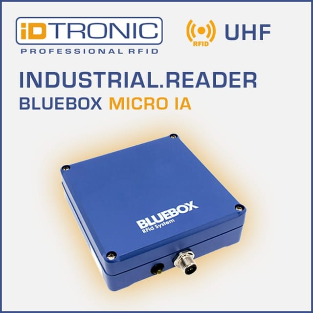 iDTRONIC equips UHF RFID readers with new software
