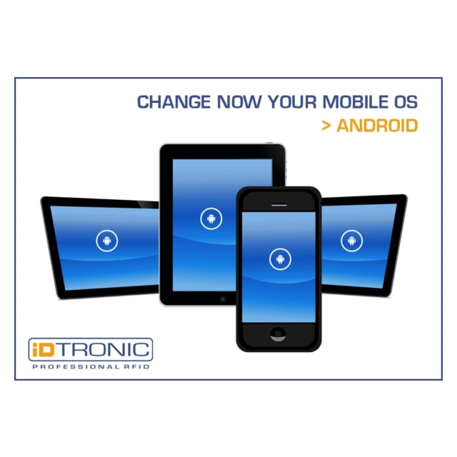 iDTRONIC: Migrate now to the reliable and future focused Android operating system!