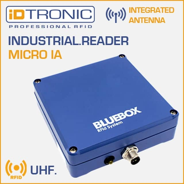 iDTRONICs BLUEBOX Micro IA: The powerful RFID Solution for Forklift Vehicles