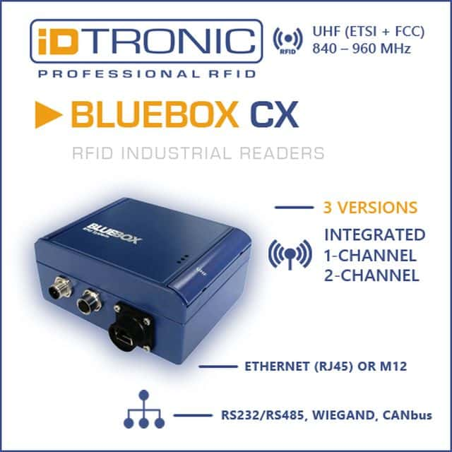 iDTRONIC's RFID Industrie Leser | Bluebox CX Serie