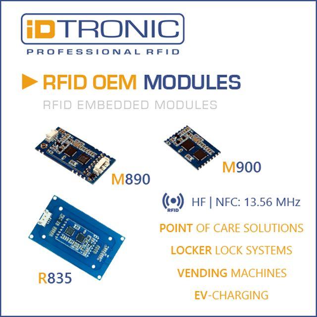 iDTRONIC's RFID OEM HF Modules