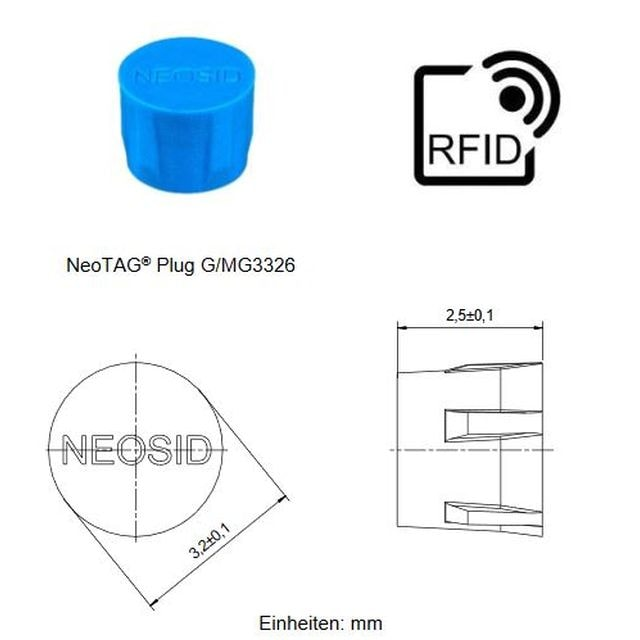 Miniaturisation At its Best – The New NeoTAG® Plug G/MG3326
