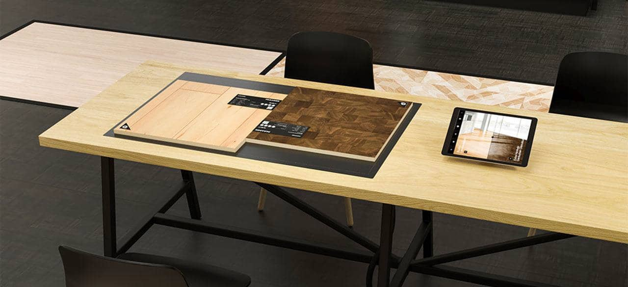 Parador develops interactive table with RFID from iDTRONIC
