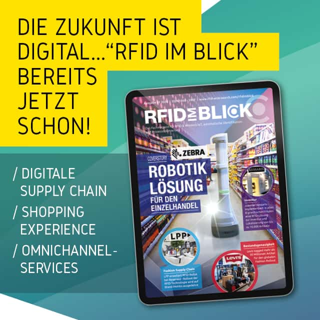 Die Ausgabe 01/2020 von RFID im Blick ist erschienen