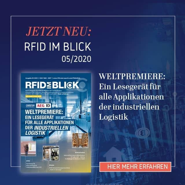 Die Ausgabe 05/2020 von RFID im Blick ist erschienen