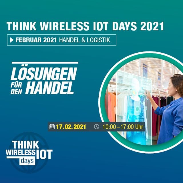"1. Think WIOT Day: ""Knowledge for Retailers"" am 17. Februar"