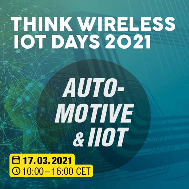 Think WIOT Day 02/2021: Livestream: Lösungen in Automotive und Industrie