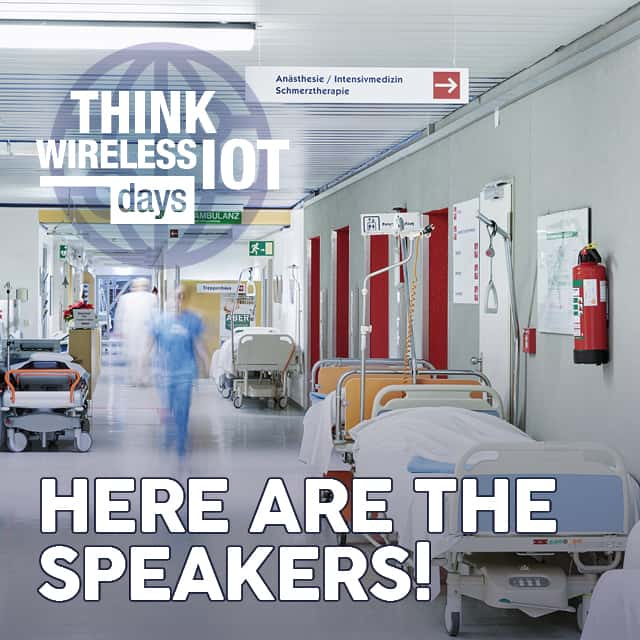 Video Inside: Speakers of the WIOT Day Healthcare on May 12th
